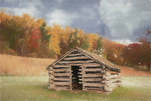 Hut on a Hill by Jeff Oates Photography