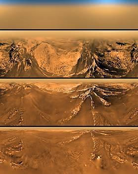 NASA - Huygen Probes View Of Titan