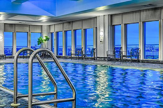 David Zanzinger - Hyatt Regency Phila. Pool Penns Landing