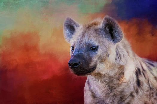 Hyena. by Lyn Darlington