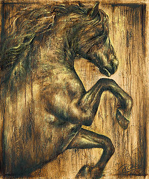 Hymne by Paula Collewijn -  The Art of Horses