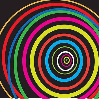 Hypnotic Circles by Michael Chatman
