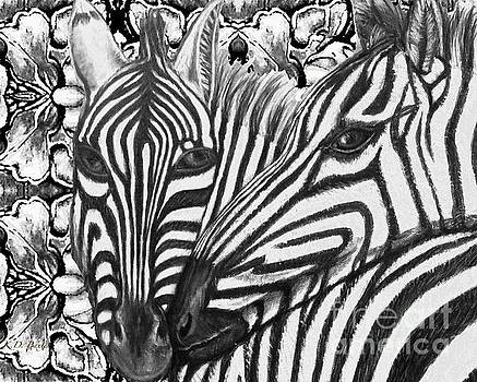 I Am So Into You Zebra Love by Kimberlee Baxter