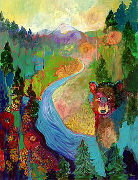 I Am The Mountain Stream by Jennifer Lommers