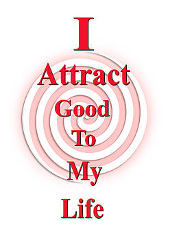 I Attract Red Pink by I Attract Good