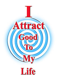 I Attract Red White Blue by I Attract Good
