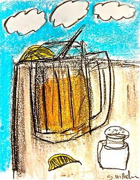 I drink alone by Esther Wilhelm Pridgen