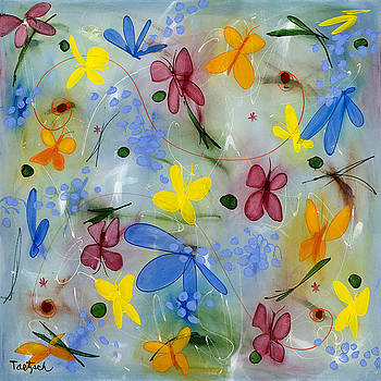 I Flit Through Life Two by Lynne Taetzsch