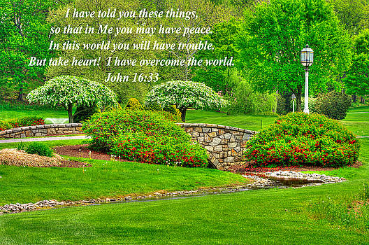 I Have Told You These Things So That in Me You May Have Peace - John 16.33 - Spring Lancaster County by Michael Mazaika