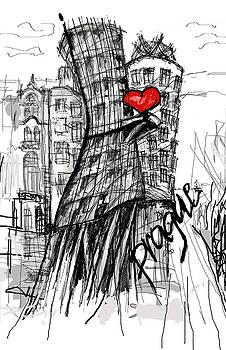 I love Prague by Sladjana Lazarevic