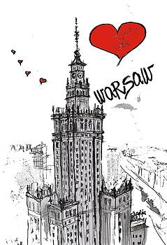 I love Warsaw by Sladjana Lazarevic
