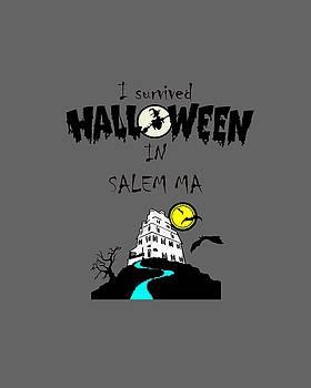 I survived Halloween in Salem by Jeff Folger