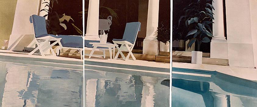Ibiza Pool by Geoff Greene