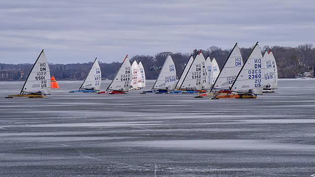 Steven Ralser - Ice boat racing - Madison - Wisconsin