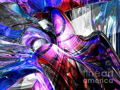 Ice Fairies Abstract by Alexander Butler
