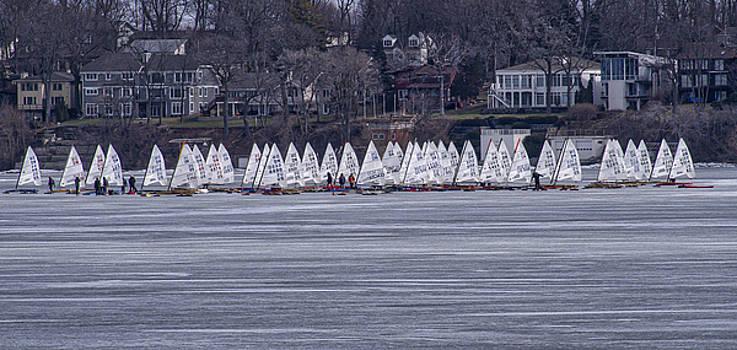Steven Ralser - Ice sailing -  Madison - Wisconsin