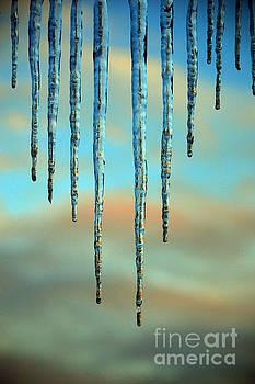 Susanne Van Hulst - Ice sickles - Winter in Switzerland