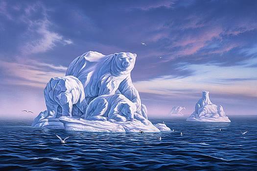 Icebeargs by Jerry LoFaro
