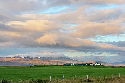 Icelandic Farmhouse by Brad Scott