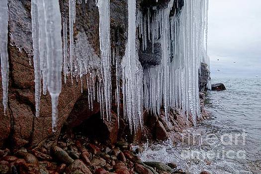 Icicles and Waterdrops by Sandra Updyke