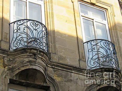 Iconic Ironwork Balconies by Barbara Plattenburg