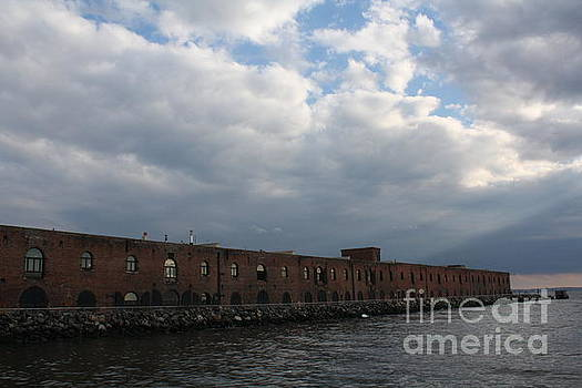 Iconic Liberty Warehouse of Brooklyn by Photographic Art and Design by Dora Sofia Caputo