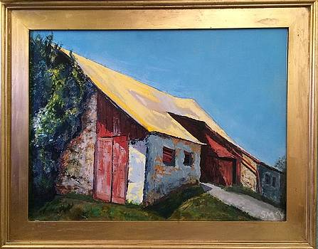 Iconic Yellow Roof by Sherry McVickar