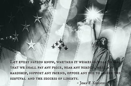 Icons Of Freedom II by Aurelio Zucco