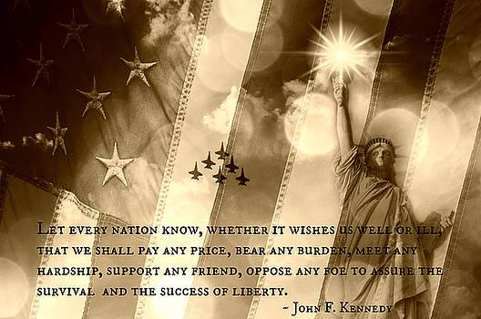 Icons Of Freedom III by Aurelio Zucco