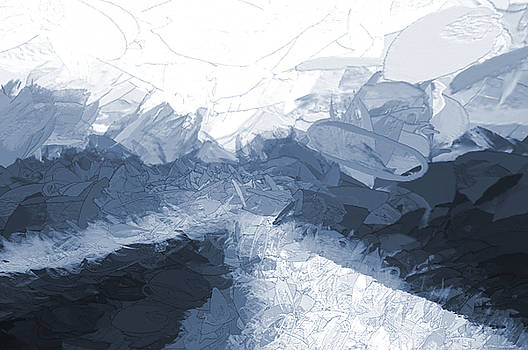 Icy Ramp Blue by Aliceann Carlton