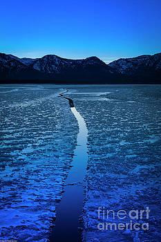 Icy Twilight by Mitch Shindelbower