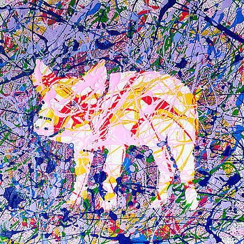 If Pollock Had a Pig by Eric Gibbons