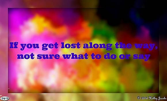 If You Get Lost by Holley Jacobs