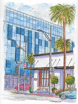 Il Fornaio in Beverly Hills, California by Carlos G Groppa