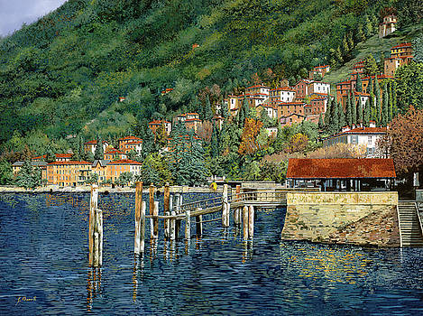 il porto di Bellano by Guido Borelli