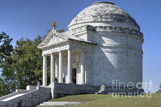 Illinois State Memorial by Liane Wright