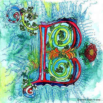 Genevieve Esson - Illuminated Letter B