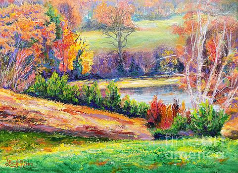 Illuminating Colors Of Fall by Lee Nixon