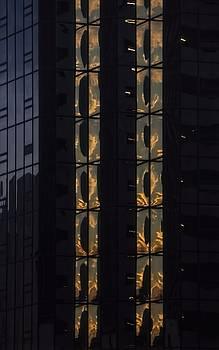 Illuminations - City Abstract by Chrystyne Novack