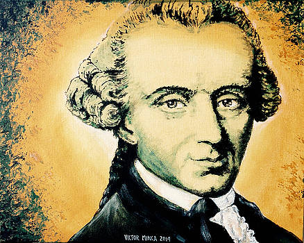 Immanuel Kant by Victor Minca