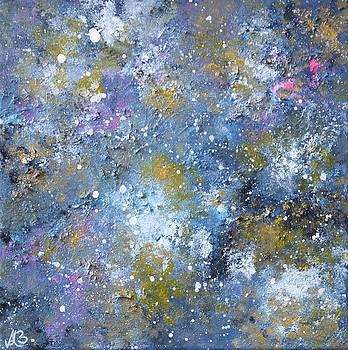 Impacted Sky by Angela  Bautista-Diaz