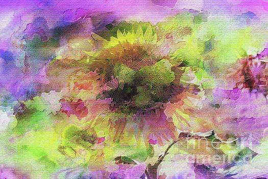 Impression Sunflower by Geraldine DeBoer