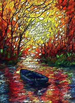 Impression Sunset by OLenaArt Lena Owens