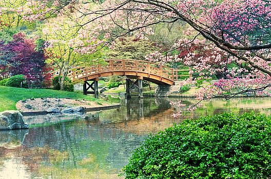 Impressionistic Bridge  by Marty Koch