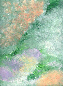 Impressionistic Landscape by Helene Henderson
