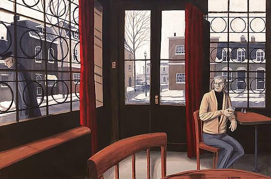 In an Amsterdam Pub by Dave Rheaume