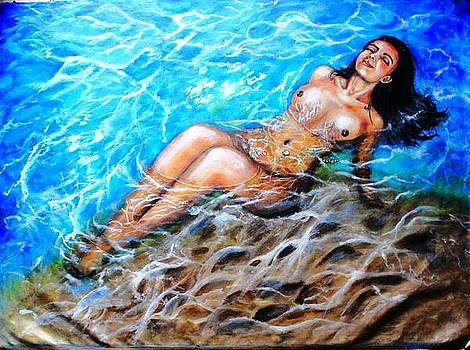 In her Element by Greeshma Manari