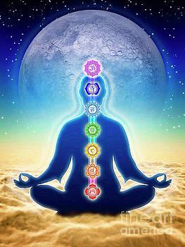 In Meditation - Blue Moon Edition by Dirk Czarnota