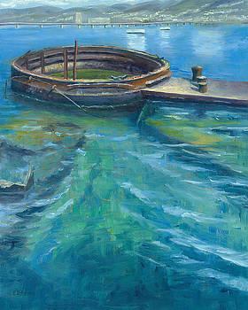 In Memoriam, Arizona Memorial, Pearl Harbor, Oahu, Hawaii by Elaine Farmer