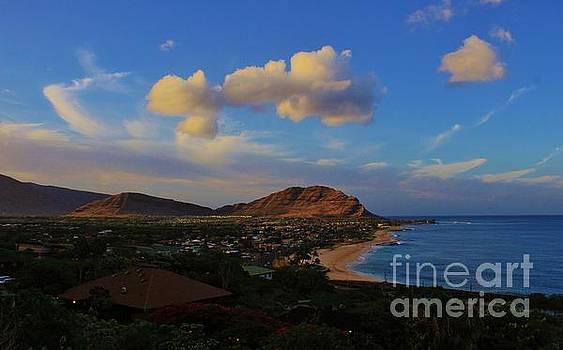 In Morning Light Ma'ili Hawaii by Craig Wood